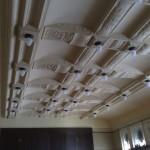 Deckenleuchten Saal Baldaufvilla