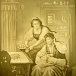 PLP 869 Mutter mit Baby 17x14cm