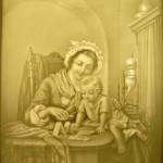 PLP 1387 Mutter mit Kind beim spielen